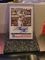 2020 Topps Big League Michael Chavis Boston Red Sox Auto/Autograph