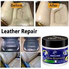 Leather Repair Filler Cream Kit Restore Car Seat Sofa Scratch Scuffs Holes 60ml