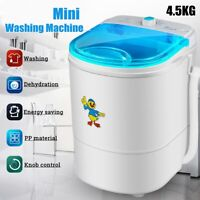 Portable Washing Machine 10LBS Laundry Wash RV Camping Mini Small Easy Operate