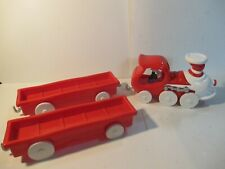 WHIMSICAL WHEELS OF DR SEUSS RED TRAIN  GREEN EGGS HAM SERIES  ERTL TOY