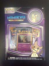 Pokemon TCG Mimikyu PIN KOLLEKTION BOX OVP in englisch, Sun and Moon Booster!