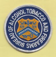 C27 * ATF SPEC AGT POLICE PATCH FEDERAL ALCOHOL TOBACCO FIREARMS EXPLOSIVES