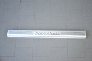 Maserati 4200 3200 Entry BAR Left LH Lower Door Moulding 386100313