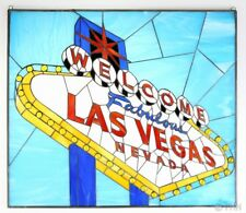 STAINED GLASS **LAS VEGAS SIGN** BY STEVE KAUFMAN **2/15**