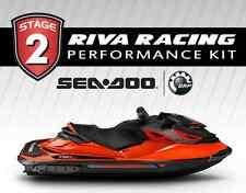 SeaDoo RXP-X 300 STAGE 2 Kit 80+MPH RIVA Power Filter MapTunerX + Free Flow + CC