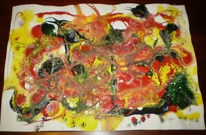 Original Glitter Abstract Painting