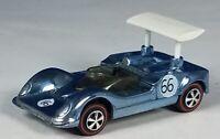 Restored Hot Wheels Redline - 1969 - Grand Prix Series - Chaparral 2G - Lt Blue