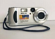 Sony Cyber-shot DSC-P71 3.2MP Digital Camera Movie Mode Optical 3X Free Shipping