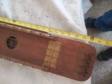 Vintage Antique 1920's Ukelin Unique String Musical Instrument For Display/Parts