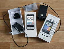 VINTAGE BOXED HTC Legend A6363 - Silver (Vodafone) Smartphone WITH SD CARD ETC