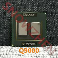Intel Core 2 Quad Q9000 CPU SLGEJ 2.0GHz-6M-1066MHz Socket P Laptops Processor