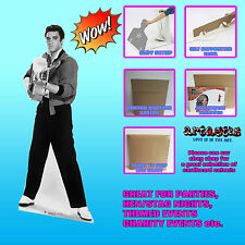ELVIS SHOOTING WITH GUITAR LIFESIZE CARDBOARD CUTOUT STANDUP