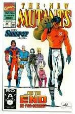 NEW MUTANTS #99(3/91)1st FERAL+1st SHATTERSTAR & 2nd GIDEON(CABLE)CGC IT(NM/NM+)