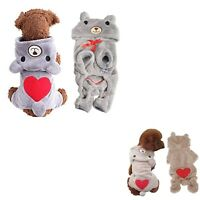 M Medium Dog Apparel Heart Bear Outfits Poodles Rottweilers Sale