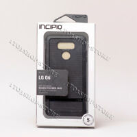 Incipio NGP Advanced Flexible Silicone Soft Gel Case Snap Cover For LG G6 Black