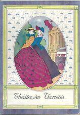 Programme Théâtre des Variétés 1911 La dame de chez Maxim's illustré par Rabajol