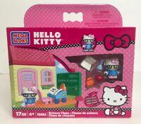 Mega Bloks Hello Kitty Science Class 10892 New 17 Piece 2013 Set Sanrio