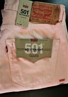 Levi's 501 '93 Straight Tie Dye Men's 100% Cotton Button Fly Jeans (LS-8)