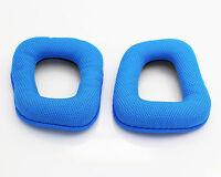 Headband Cushion Pad For Logitech G430 G930 Headphones Blue Replacement Ear Pads