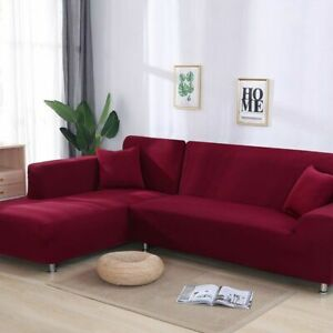 Elastic Couch Sofa Cover Slipcover Living Room Polyester Furniture Home Hotel