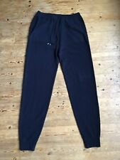 Autograph M&S Pure Cashmere Navy Joggers Sweatpants Loungewear Size Small BNWT