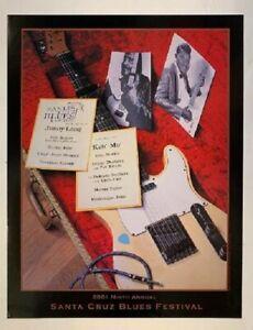 Santa Cruz Blues Festival Concert Poster 2001