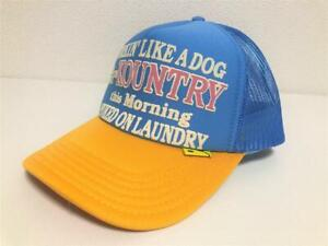 kapital kountry WORKING PUKING PT 2TONE truck cap hat trucker sax gold