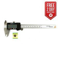 """Digital Vernier Stainless Steel Caliper Measuring 0-6""""/150mm 19202"""