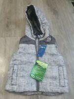 Lupilu Boys Padded Gilet 12-18 Months body warmer lightweight jacket hooded