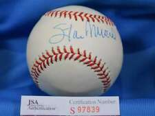 STAN MUSIAL SigneD JSA COA National League ONL Baseball Authentic Autograph