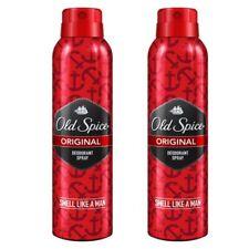 Pack of 2 Original Old Spice Anti Perspirant Deodorant Body Spray 150 ml