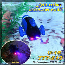 High Performance Mini RC Racing Submarine Boat With Remote Control Toys Gift New