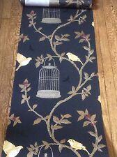 "English Wallpaper Nina Campbell OSBORNE & LITTLE ""Birdcage Walk"" 3 Dbl Rolls"
