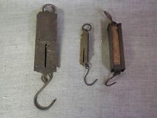 Vintage Brass Spring  Scales