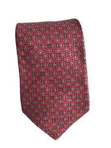 Hermes Men's Tie 100% Silk