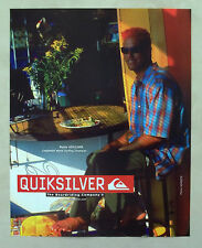 C215-Advertising Pubblicità-1998- QUIKSILVER RUSTY KEAULANA LONGBOARD SURFING