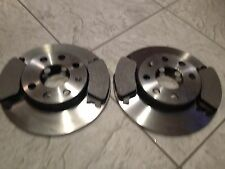 SUZUKI SWIFT 1.3 1.5    05 11  TWO FRONT VENTED BRAKE DISCS & SET OF BRAKE PADS