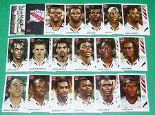 PANINI FOOTBALL GERMANY 2006 TRINIDAD TOBAGO COMPLET COUPE MONDE FIFA WORLD CUP