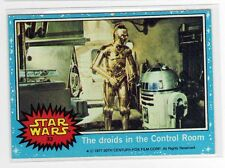 Star Wars 1977 Star Wars Series 2 red Single Card #71 NM straight from a wax Pack