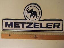 Großer Aufnäher Sticker Metzeler  Classic Vintage, Oldtimer MX Moto Cross Enduro