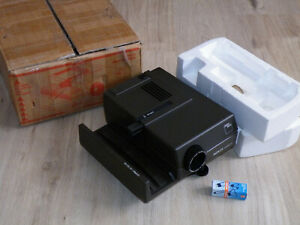 Diaprojektor Zeiss Ikon Ikolux AF mit Talon 2,8/85 made in West Germany