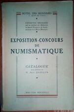 Katalog numizmatyczny. Exposition-Concours de Numismatique. Catalogue 1951.
