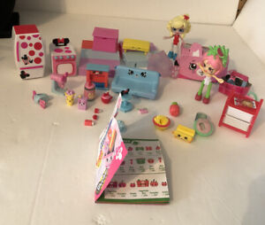 Shopkins Lot With Minnie Mouse Stove And Refrigerator