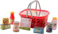 Panier de courses pour enfants avec produits