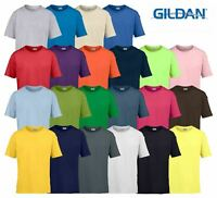 Gildan Softstyle Youth Ringspun T-Shirt Kids Blank Cotton School Sports Casual T