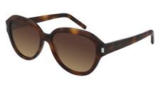 Brand New SAINT LAURENT Sunglasses SL 400 003 Havana brown Woman