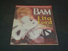 1990 JULY 13 BAM MAGAZINE ISSUE NO. 337 - LITA FORD COVER - SP 2956