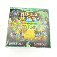 Heroes of Land, Air & Sea Board Game 7th player expansion Pestilence NEW Gamelyn