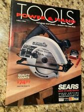 Vintage Sears Craftsman 1993-1994 Power and Hand Tools Catalog