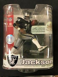 Bo Jackson 2007 Mcfarlane Raiders Black Jersey